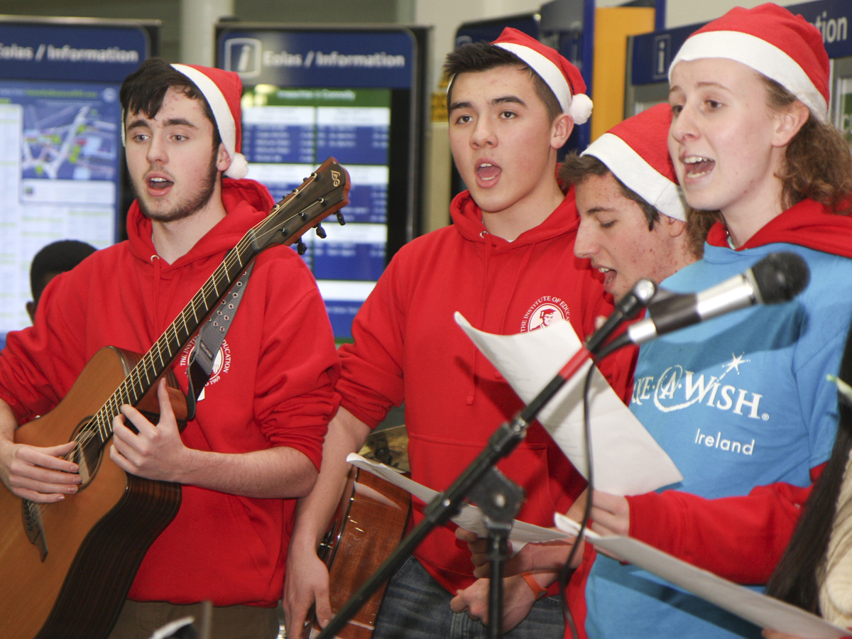 Choir at Connolly Station