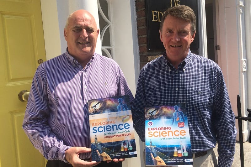 New Junior Cycle Textbook Exploring Science Institute Of Education