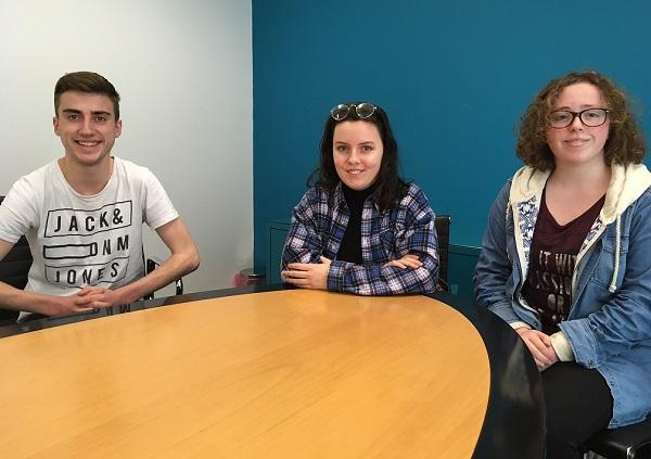 Oxford Schools Debating team members