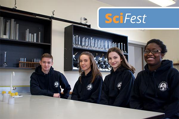 Scifest participants