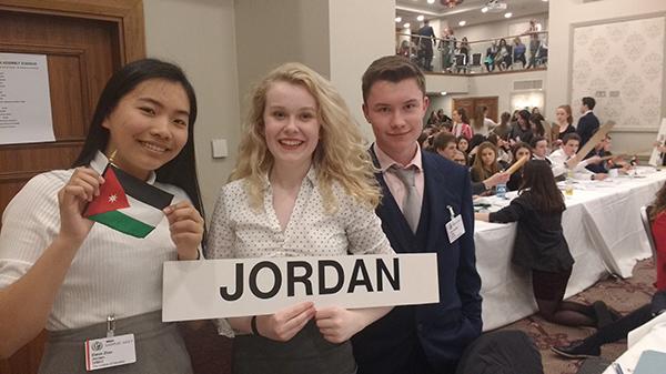 Model united nations candidates