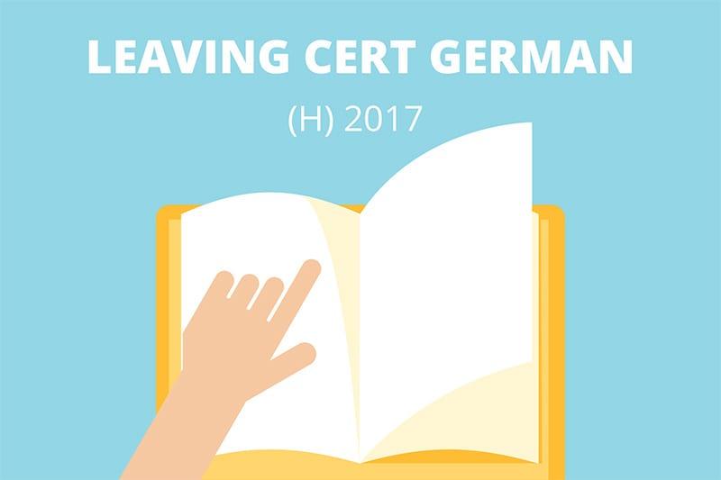 Leavnig Certificate German