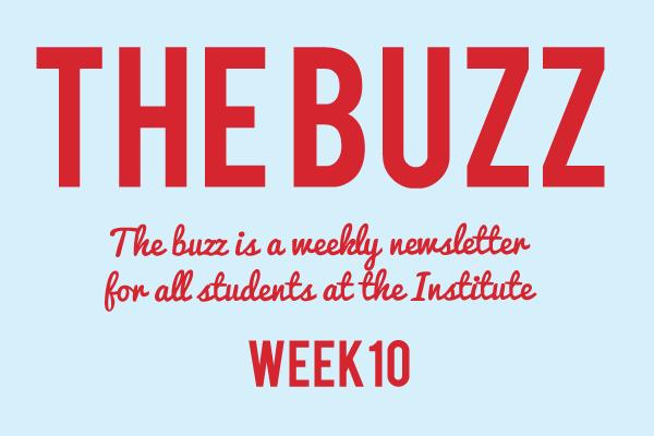 institute newsletter 2018 week 10