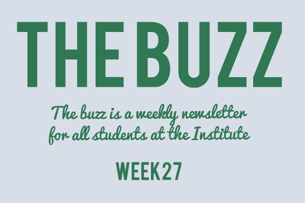 institute newsletter 2019 week 27