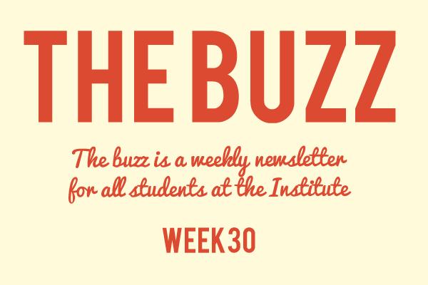 institute newsletter 2019 week 30