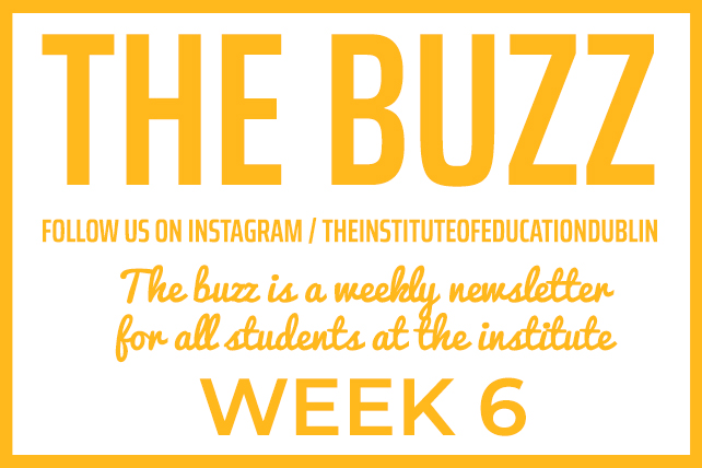 institute newsletter week 6