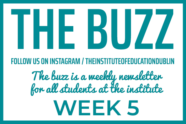 institute newsletter week 5
