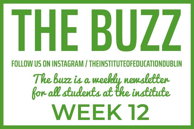 institute newsletter week 12