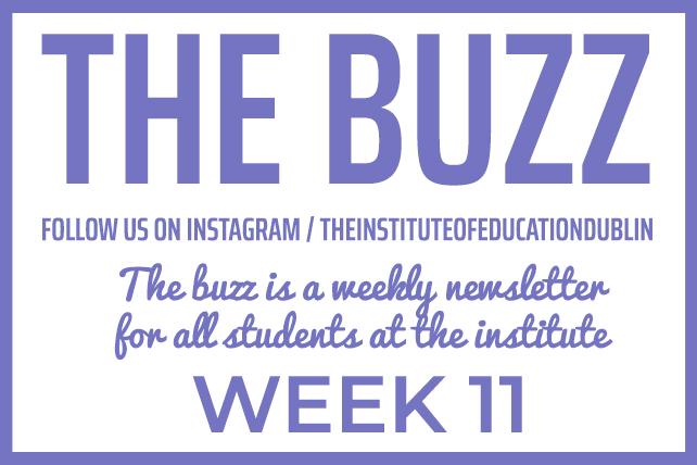 institute newsletter week 11