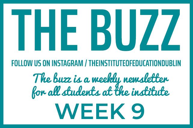 institute newsletter week 9