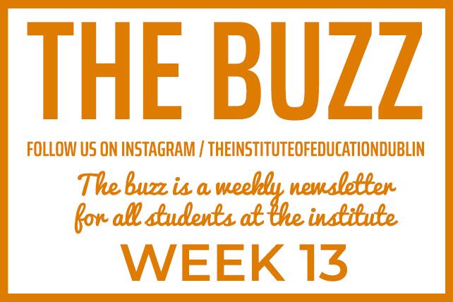 institute newsletter week 13