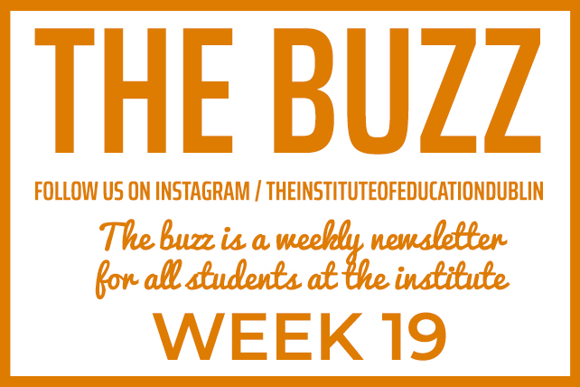 institute newsletter week 19