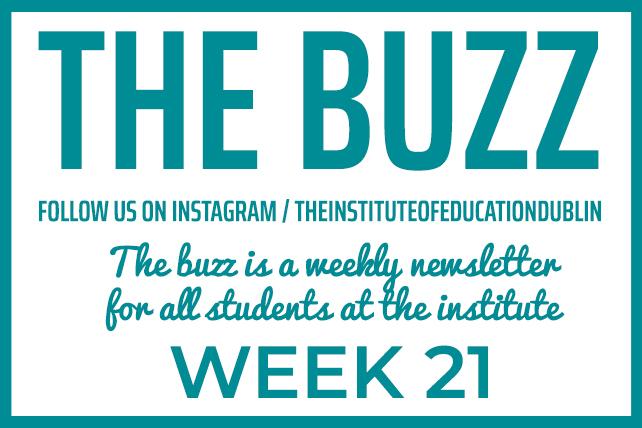 institute newsletter week 21