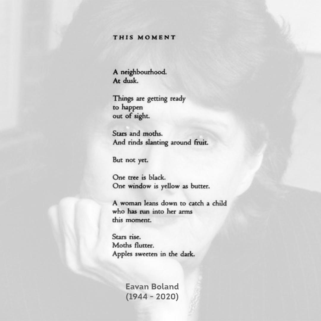 Eavan Boland - This Moment