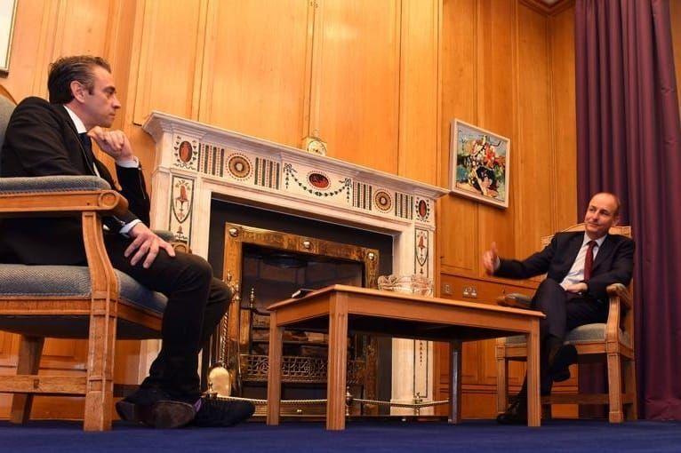 Richard Hogan Meets An Taoiseach
