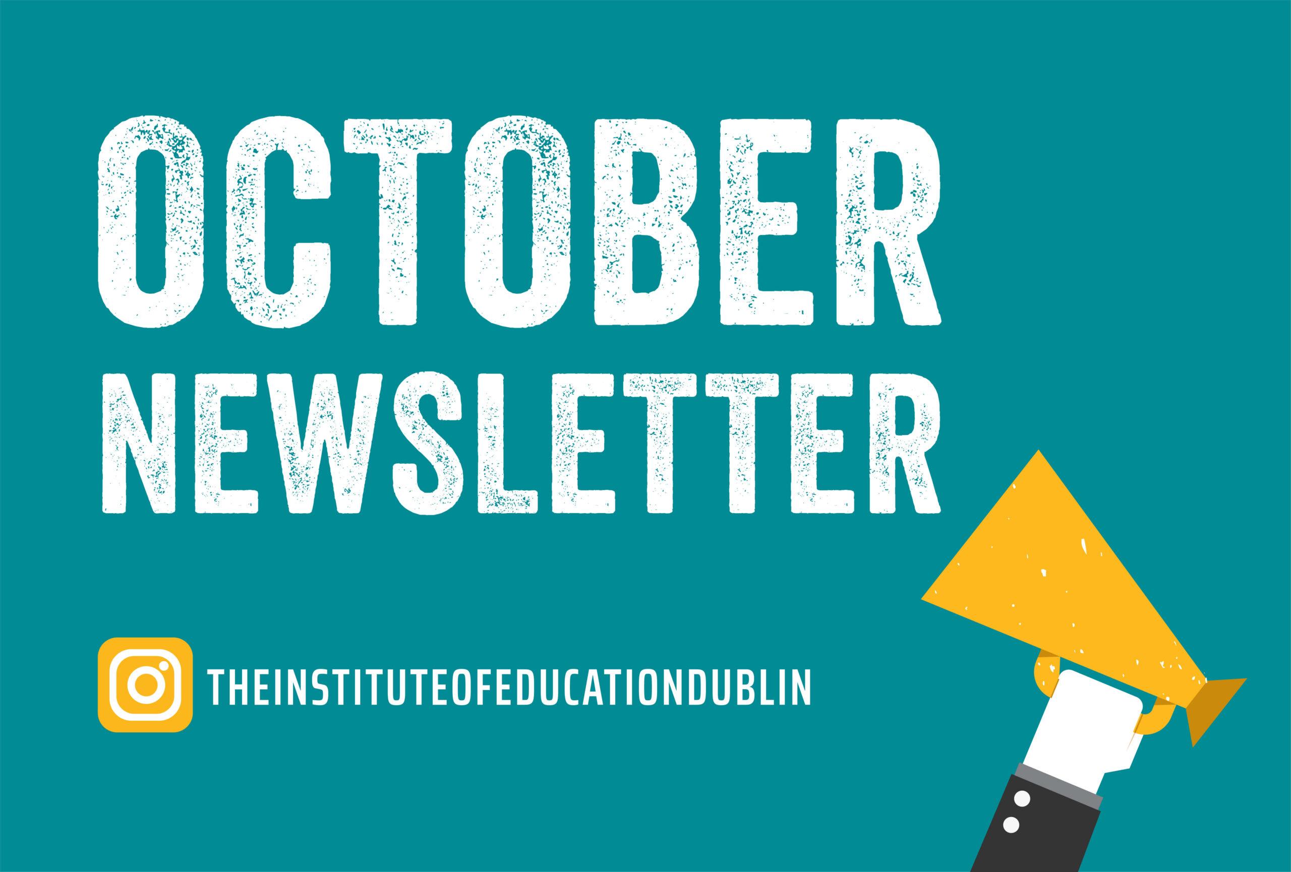 October 2020 Monthly Newsletter Header